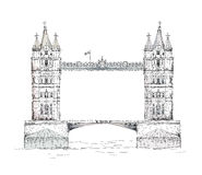 London. Tower bridge Royalty Free Stock Image