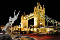 London. Tower Bridge in London, Great Britain Royalty Free Stock Photo