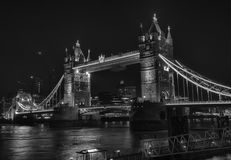 London Tower Bridge HDR Stock Photo