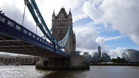 London Tower Bridge. Historic Britain UK River Thames Royalty Free Stock Images