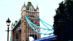 London, Tower bridge stock video footage