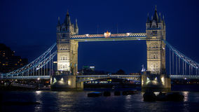 London, Tower bridge in London, travel  Royalty Free Stock Photography