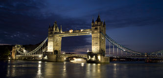 London - Tower bridge in morning Royalty Free Stock Photo