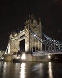 London - Tower bridge in night Royalty Free Stock Photos