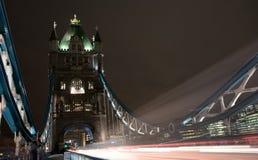London Tower Bridge at night Stock Photos