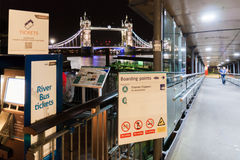 London Tower Bridge by night Stock Photography