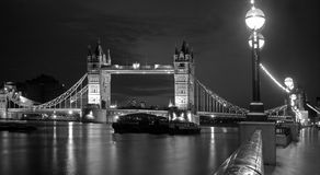 London - Tower bridge at night Royalty Free Stock Photo