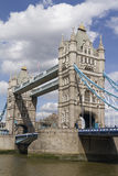 London Tower Bridge over the River Thames on a sunny day, London Stock Photo