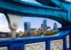 London Tower Bridge over Thames river Royalty Free Stock Photos