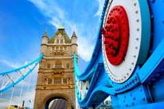 London Tower Bridge over Thames river Royalty Free Stock Photography