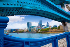 London Tower Bridge over Thames river Royalty Free Stock Images