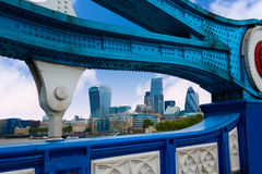London Tower Bridge over Thames river Royalty Free Stock Photo