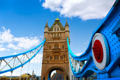 London Tower Bridge over Thames river Stock Image