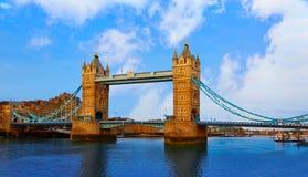 London Tower Bridge over Thames river Stock Photo