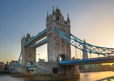 London Tower bridge at the  River Thames Royalty Free Stock Photos