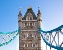 London Tower bridge at the  River Thames Stock Images