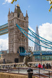 London, Tower bridge and River Thames Royalty Free Stock Photos