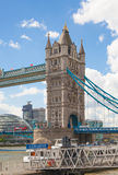 LONDON,  Tower bridge on the River Thames Royalty Free Stock Photos