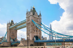 LONDON,  Tower bridge on the River Thames Royalty Free Stock Image