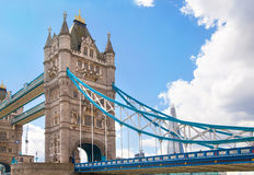 LONDON,  Tower bridge on the River Thames Stock Photos