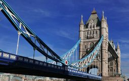 London Tower Bridge. Tower Bridge London on a sunny day Royalty Free Stock Photos