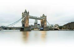 London Tower bridge on sunset Royalty Free Stock Photography