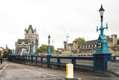 London Tower bridge on sunset Royalty Free Stock Images
