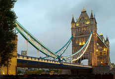 London Tower bridge on sunset Stock Photo