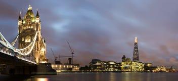 London Tower bridge on sunset Stock Image
