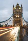 London Tower bridge on sunset Stock Photo