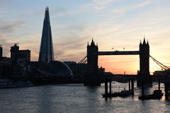 London Tower Bridge  sunset Stock Photo