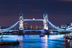 London. Tower Bridge Thames River London England Royalty Free Stock Photos
