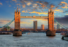 London - Tower bridge, UK Stock Photos