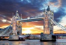 London - Tower bridge, UK Royalty Free Stock Image