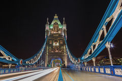 London Tower Bridge, UK England. Tower Bridge is a combined bascule and suspension bridge in London, over the River Thames. It is close to the Tower of London royalty free stock photo
