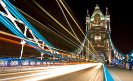 London Tower Bridge, UK England. Tower Bridge is a combined bascule and suspension bridge in London, over the River Thames. It is close to the Tower of London royalty free stock photography