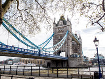 London Tower Bridge, UK Royalty Free Stock Photo