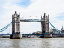 London Tower Bridge, UK Royalty Free Stock Images