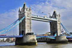 The London Tower Bridge Royalty Free Stock Photography
