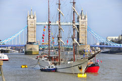 The London Tower Bridge Stock Photo
