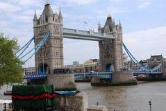 The London Tower Bridge. Stock Photo