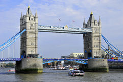The London Tower Bridge. Royalty Free Stock Photo