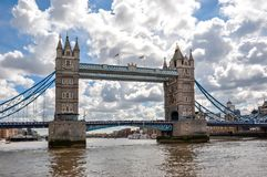 London Tower bridge, United Kingdom stock image