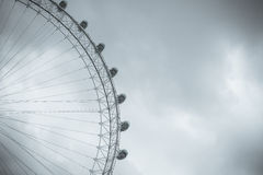 Close up of the London Eye Stock Photos