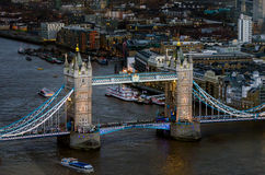 London, Tower Bridge Royalty Free Stock Images