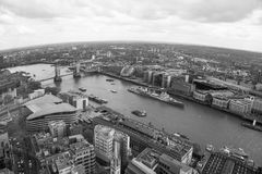 LONDON,  Tower Bridge, View on the River Thames Stock Photo