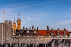 London Tower in the evening Royalty Free Stock Image