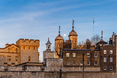 London Tower in the evening Stock Photography