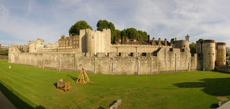 London Tower. In London and green grass Stock Photography