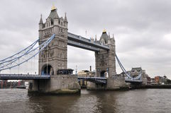 london towerbridge Royaltyfri Foto